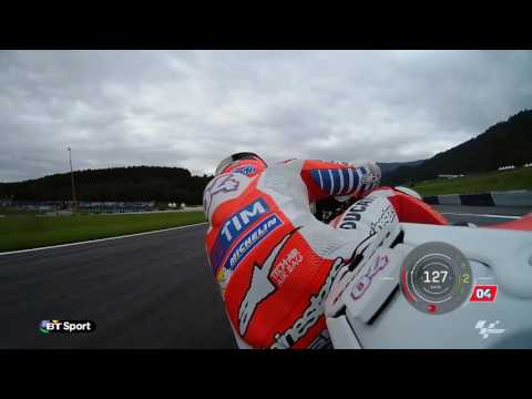 ANDREA DOVIZIOSO - AUSTRIAN GP TRACK GUIDE ON BT SPORT