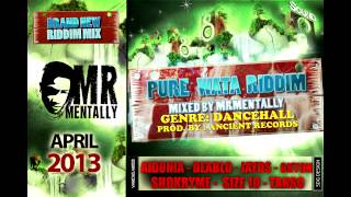 Pure Wata Riddim Mix By Mr Mentally April 2013)