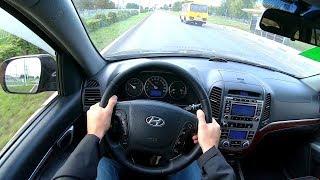 2009 Hyundai Santa Fe 2.2 CRDI (150) POV TEST Drive