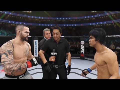 Santiago Ponzinibbio vs. Bruce Lee (EA Sports UFC 3) - Rematch (CPU vs. CPU)
