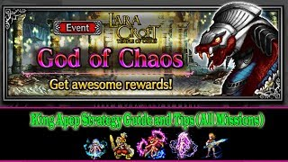 Final Fantasy Brave Exvius God of Chaos: King Apep Strategy Guide(All missions Complete) (#357)