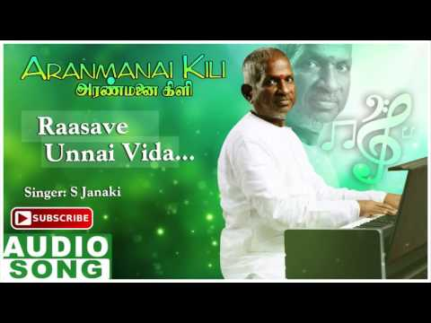 Aranmanai Kili Tamil Movie Songs | Raasave Unnai Song | Rajkiran | Ahana | Ilayaraja | Music Master