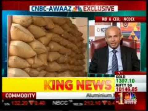 CNBC Awaaz News interviews Mr. Samir Shah, MD & CEO, NCDEX about NERL launch
