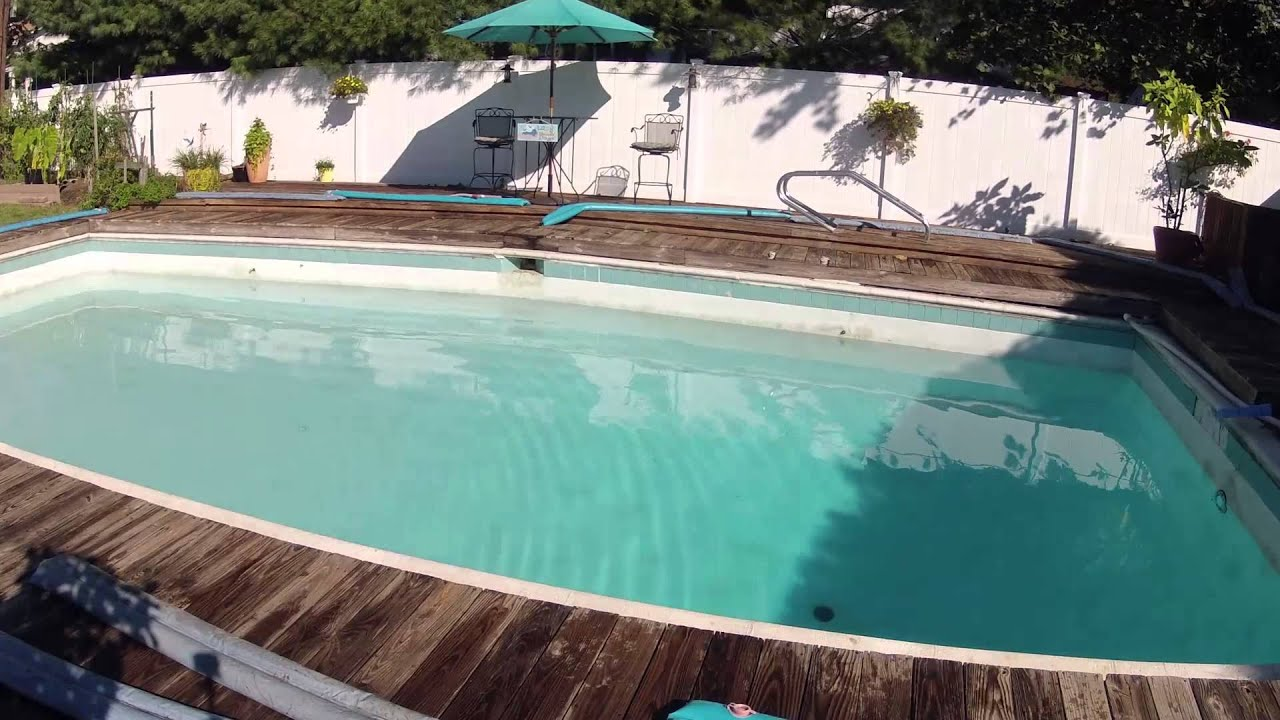 how to close a gunite pool for winter