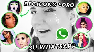 LA BEAUTY COMMUNITY DECIDE IL MIO TRUCCO CON I VOCALI DI WHATSAPP !!! 😘