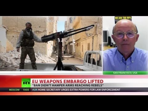 Embargo End: EU lifts Syria arms ban to spur peace process?
