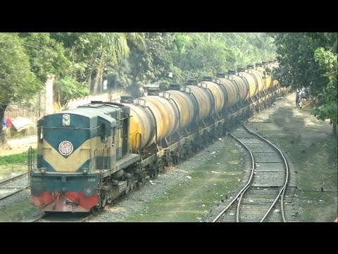 Biggest Freight Train in Bangladesh Railway / Bd Freight Train