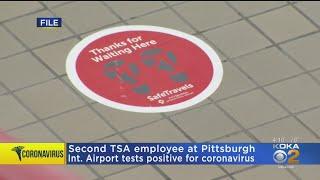 Second tsa employee positive for ...