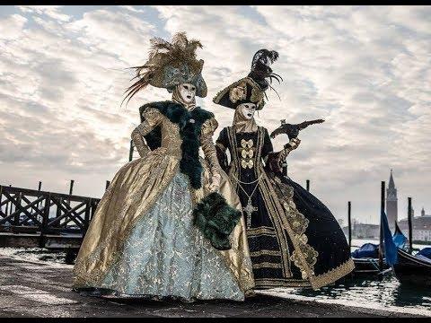 Carnevale di Venezia 2018 - Il Corteo del Doge (Maschere del 700 Veneziano) -- Venice Carnival 2018