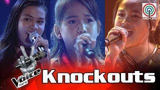 The Voice Teens Philippines Knockout Round: Christy vs Zyra vs Arisxandra