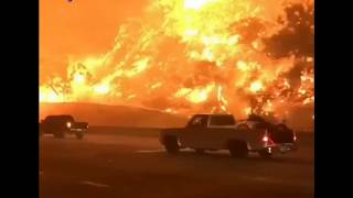 The Canyon Fire Scorches 2,000 acres FORCING hundreds of Evacuations
