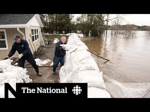 N.B. floods force evacuations and road closure across the province