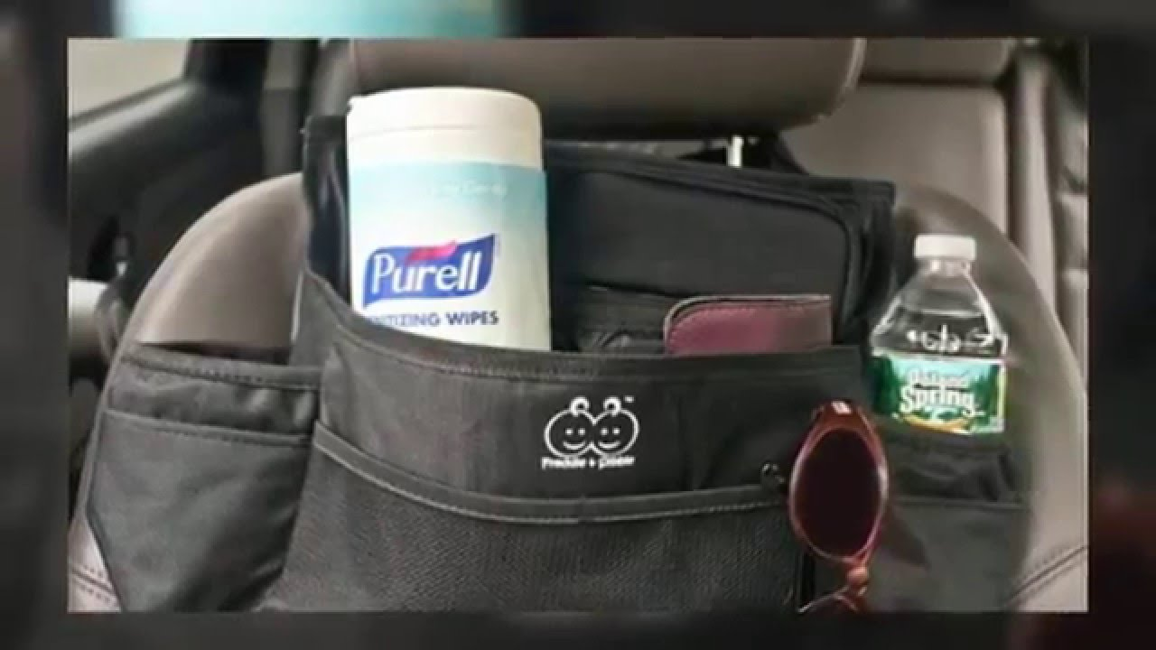 Car Organizer (Review) - Front or Back Seat Storage Organizer by ...