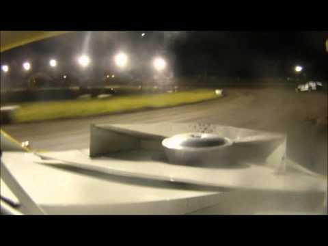 Mineral City Speedway A-Mod in car video