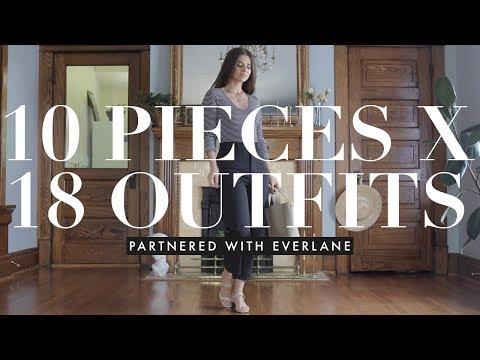 Fashion Finds - Closet Essentials: 10 pieces X 18 outfits