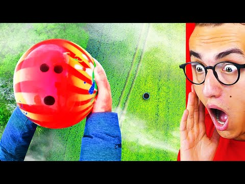 BOWLING BALL EXPERIMENTS Which Will Destroy ANYTHING!