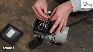 Câblage d'un moteur electrique