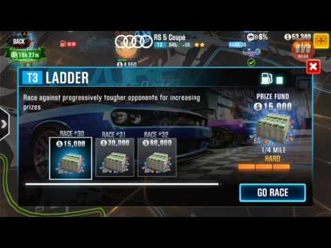 CSR Racing 2 - Tier 3 Ladder Race #30