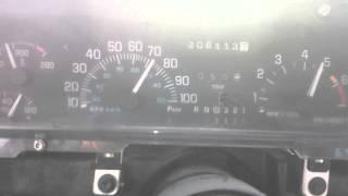 97 Buick lesabre 0-100