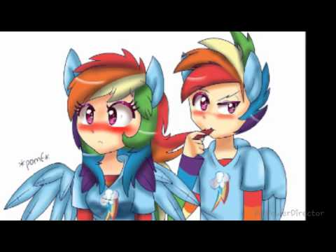 Rainbow Dash × Rainbow Blitz PMV ~Shower