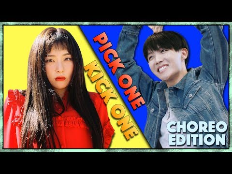 Pick One Kick One / Choreography Edition / Kpop Game (Dance Practise)