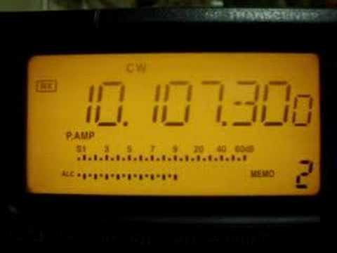 วิทยุสมัครเล่น รหัส มอร์ส