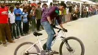 Bicycle stunts in Bangladesh 2015