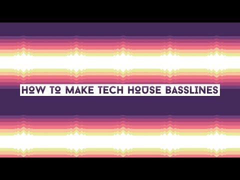 How To Make Tech House Bass Like Solomun and Hot Since 82[+SAMPLES]
