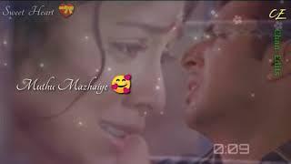 Muthu Mazhaiye 🥰 Muthu Mazhaiye 🥰 Song / WhatsApp Status Video