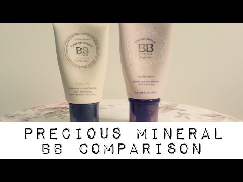 COMPARISON REVIEW: Etude House Precious Mineral Perfect Fit vs. Bright Fit BB Creams thumbnail