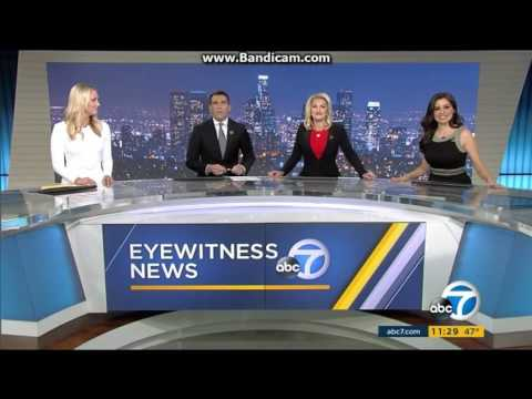 KABC: ABC 7 Eyewitness News At 11pm Close--2016