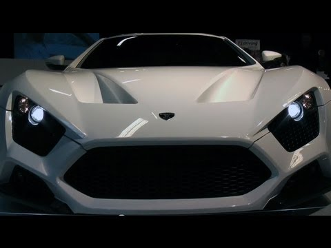 Zenvo ST1, Lamborghini, Porsche, Mercedes, Ferrari, Maserati and Lotus