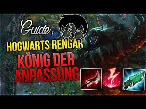 Hogwarts Rengar Guide! König der Anpassung [League of Legends] [Deutsch / German] thumbnail