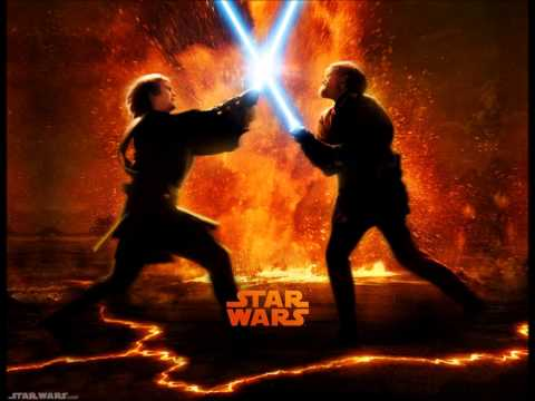 Star Wars Revenge of the Sith Soundtrack : Anakin vs Obi-Wan, the great duel