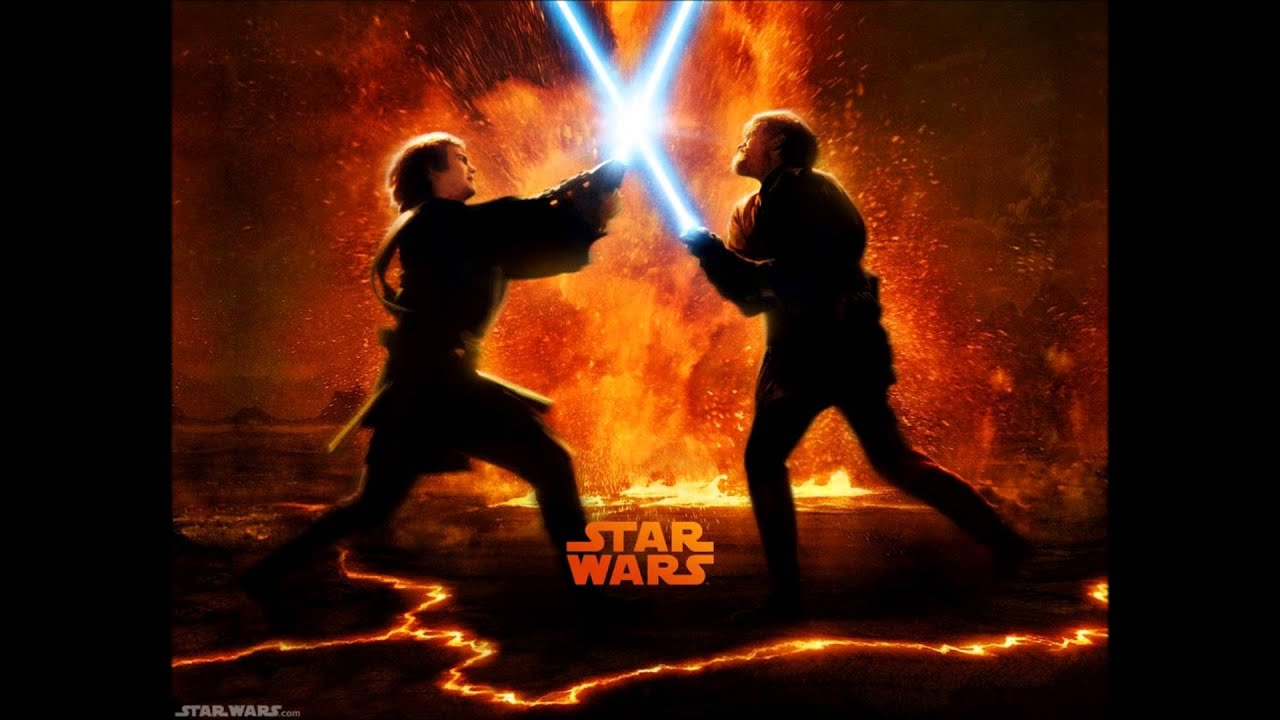Star Wars Revenge Of The Sith Soundtrack Anakin Vs Obi Wan The Great Duel Youtube