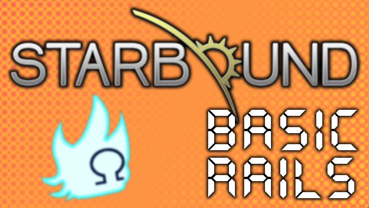 Starbound Basic Rails Tutorial V10 Youtube Wiring Station Fr