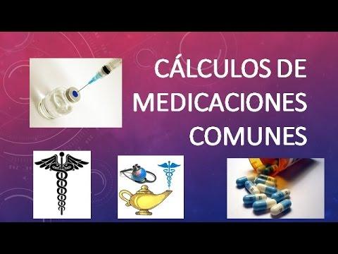 CÁLCULOS DE MEDICACIONES: DOSIS, GOTEO