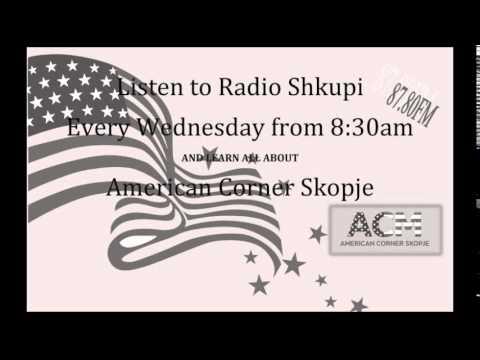 American Corner Skopje @ Radio Shkupi - 3rd Radio Program