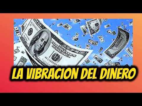La vibracion del dinero, atrae el dinero como un iman a tu vida.