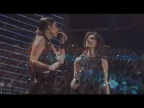 Tra te e il mare: Laura Pausini y Elisa - Amiche Per l'Abruzzo
