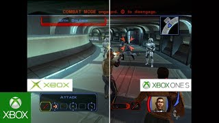 Star Wars: Knights of the Old Republic - Graphics Comparison: Original Xbox vs. Xbox One S