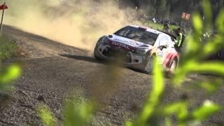 Inside Rally Finland with Juha Kankkunen - Citroën WRC 2014