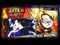 ULTRA INSTINCT SUPER SAIYAN 3 Goten Reacts To Goku Ultra Instinct SSJ3 Vs Jiren Fan Animation mp3