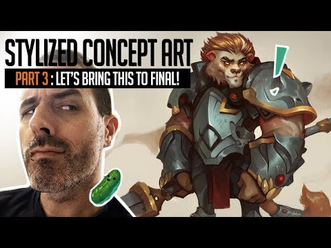 Stylized Concept Art Series – Part 3!