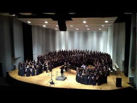 Song of the Stars - GMEA All-State 2012 Senior Women Chorus