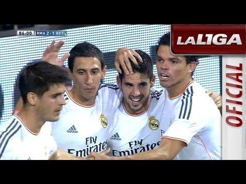 Resumen de Real Madrid (2-1) Real Betis - HD - Highlights