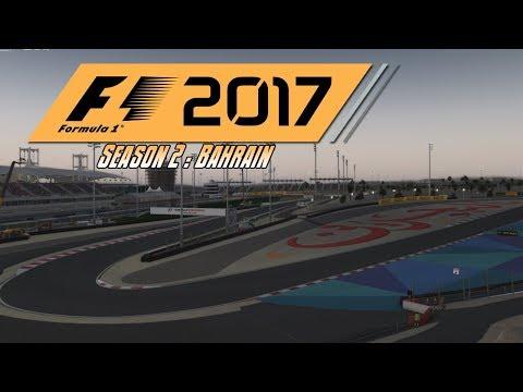 F1 2017 Career S2 | Race 3 - Bahrain