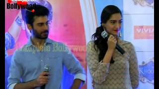 Fawad Khan,Sonam Kapoor at Viviaana Mall for promotion of