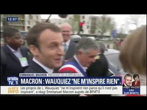 """Macron sur Wauquiez : """"Il n"""