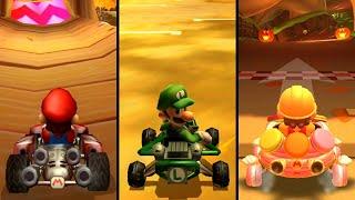 Mario Kart - Wii Maple Treeway (Comparison Video)